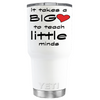 YETI 30 oz It Takes a Big Heart on White Tumbler