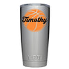 YETI 20 oz Personalized BasketBall Tumbler