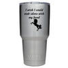 YETI 30 oz I wish I could Stab Idiots Tumbler