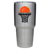 YETI 30 oz Basketball Hoop Personalized Design Tumbler