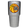 YETI 30 oz Basketball Monogram Design Tumbler