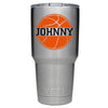 YETI 30 oz Basketball Personalized Design Tumbler