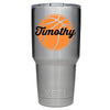 YETI 30 oz Personalized BasketBall Tumbler