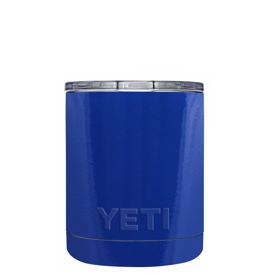 Custom YETI 10 oz Blue Gloss Design Your Own Tumbler