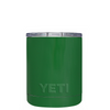 Custom YETI 10 oz Green Gloss Design Your Own Tumbler