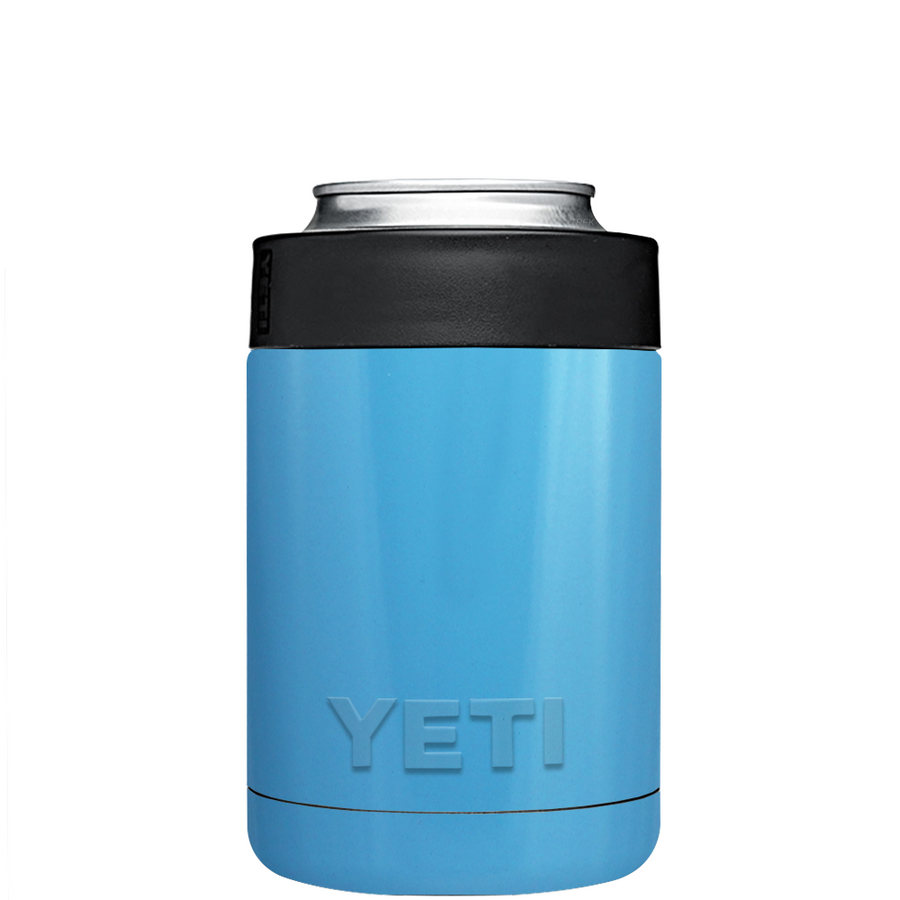 Custom YETI Colster Baby Blue Design Your Own Bottle & Can Cooler