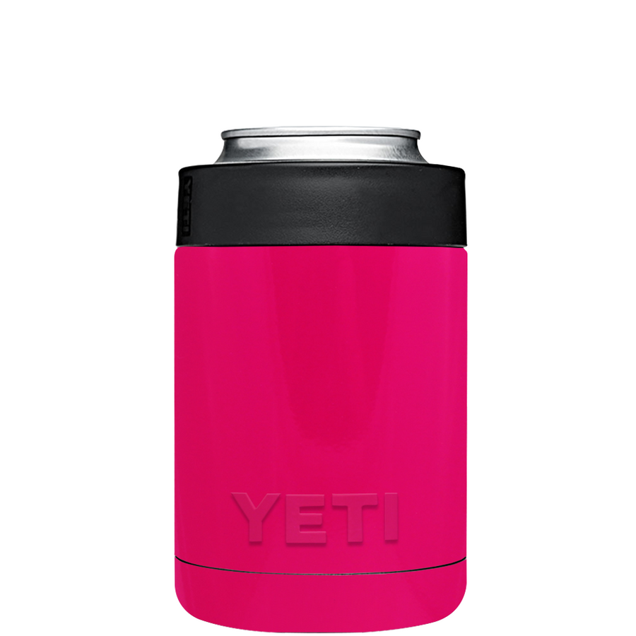 Custom YETI Colster Hot Pink Design Your Own Bottle & Can Cooler
