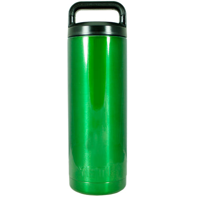 YETI Green Translucent 18 oz Rambler Bottle