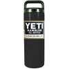YETI Black Gloss 18 oz Rambler Bottle
