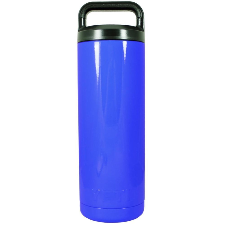 YETI Blue Gloss 18 oz Rambler Bottle