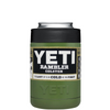 YETI Army Green Colster Can Cooler & Bottle Insulator