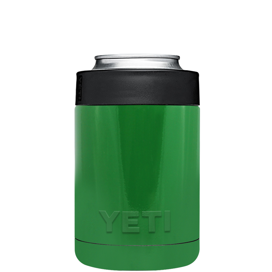 YETI Kelly Green Colster Can Cooler & Bottle Insulator