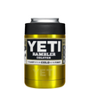 YETI Gold Translucent Colster Can Cooler & Bottle Insulator