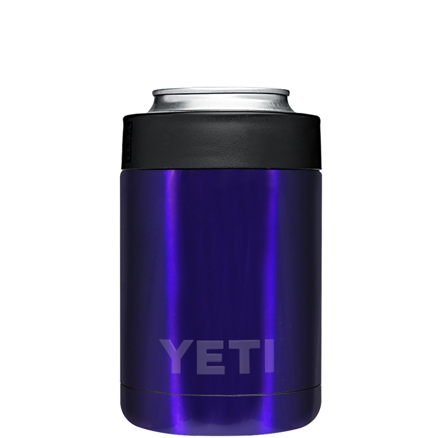 YETI Intense Blue Translucent Colster Can Cooler & Bottle Insulator