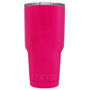 YETI Hot Pink Gloss 30 oz Rambler Tumbler