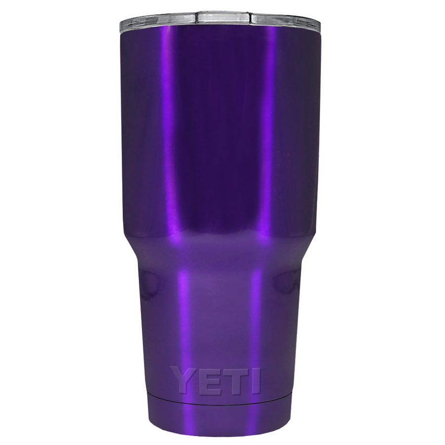 YETI Purple Translucent 30 oz Rambler Tumbler