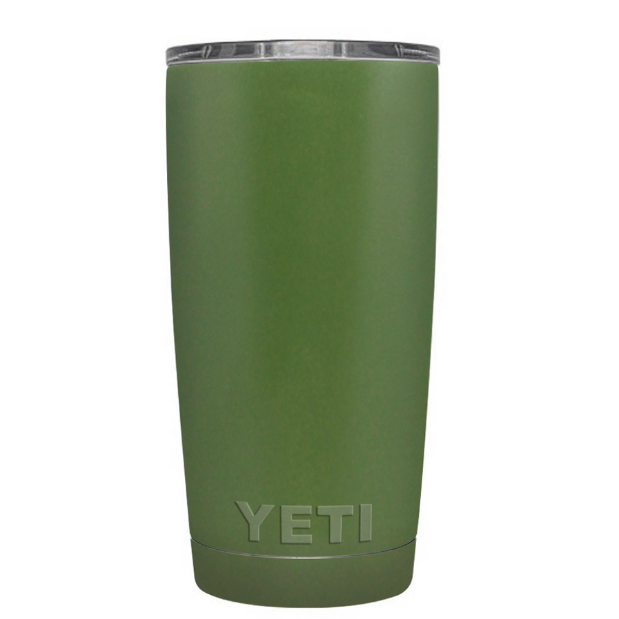 Custom YETI 20 oz Army Green Design Your Own Tumbler