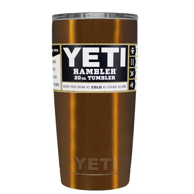 YETI Copper Translucent 20 oz
