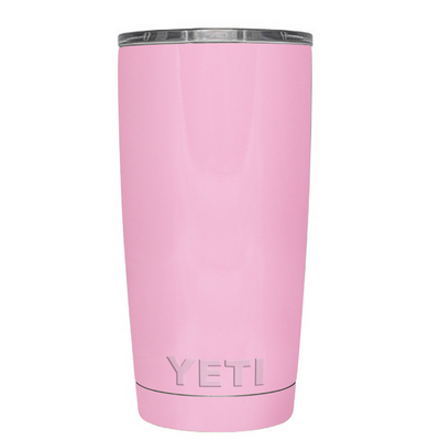 Custom YETI 20 oz Pretty Pink Design Your Own Tumbler