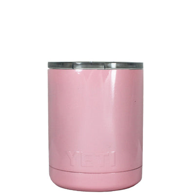 Custom YETI Pretty Pink 10 oz Lowball Tumbler