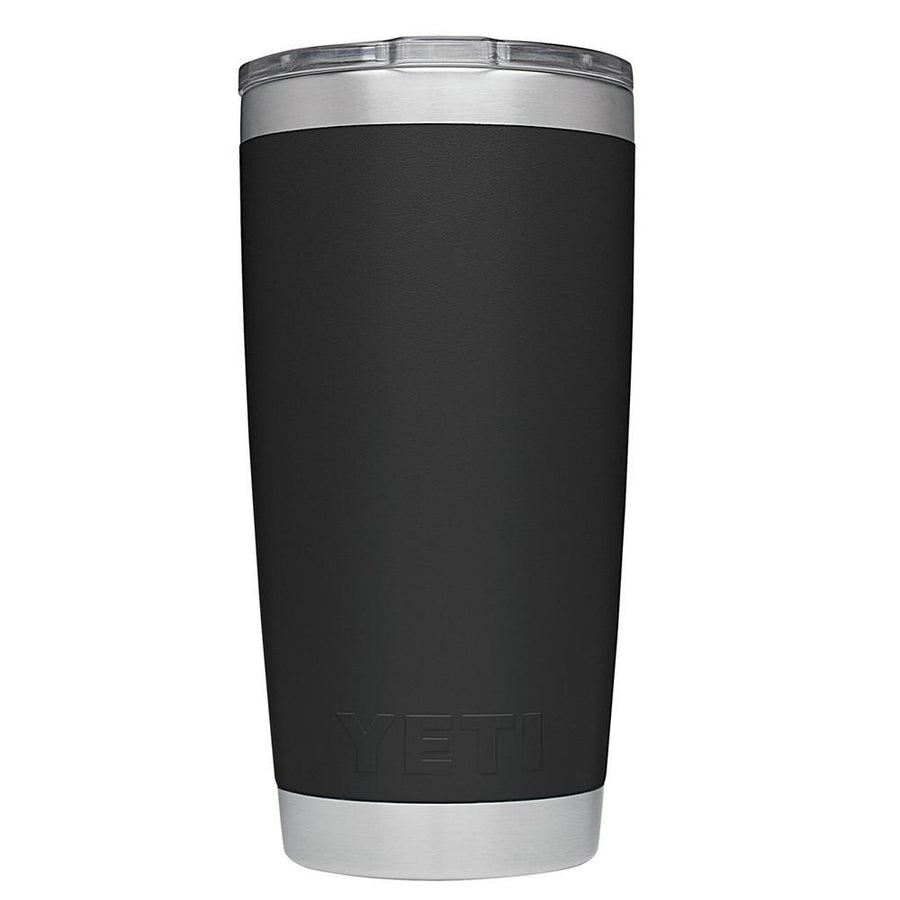 YETI 20oz Just Married on Black Wedding Gift Rambler