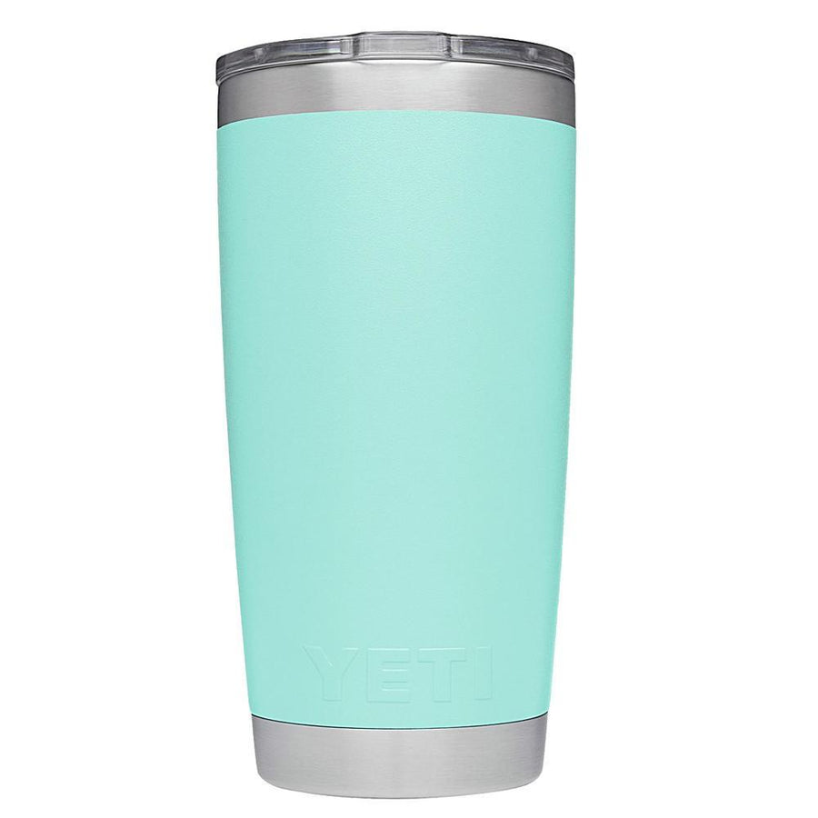 YETI 20oz Just Married on Seafoam Wedding Gift Rambler