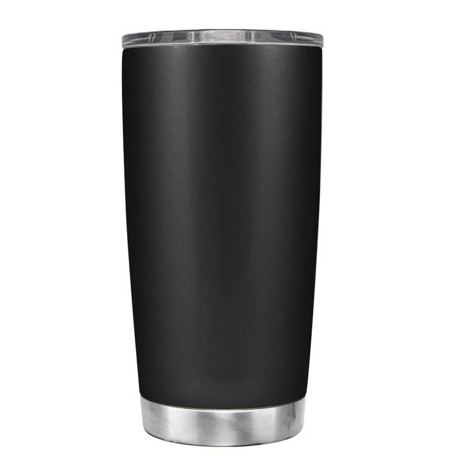 YETI 20oz Outlaw Woman on Black Matte Tumbler