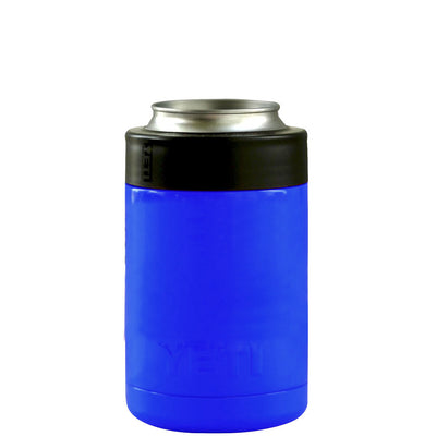 Custom YETI Blue Gloss Colster Can Cooler