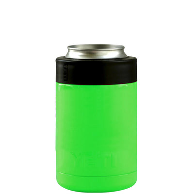 Custom YETI Neon Green Gloss Colster Can Cooler
