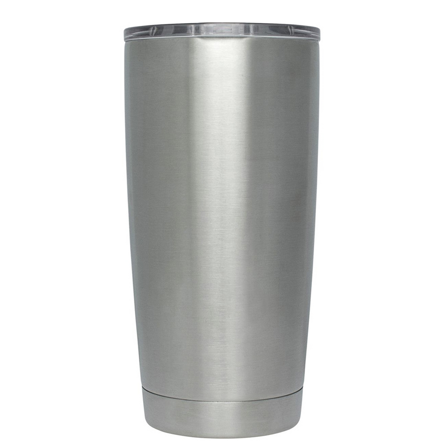 YETI 20 oz Self Before Service on Stainless Steel EMS Tumbler