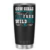 YETI 20oz Not Meant to be Tamed on Black Matte Tumbler