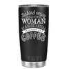 YETI 20oz Substantial Amount of Coffee on Black Matte Tumbler