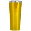 Corkcicle 24 oz Bright Star on Leafy Tree on Gold Translucent Tumbler