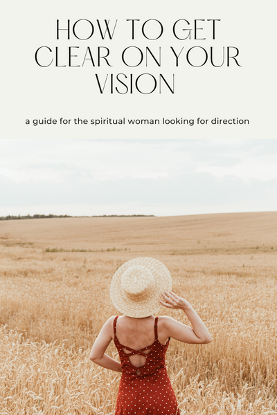 Not sure what the vision for your future looks like? Here's 3 simple steps to get clear on the vision for your future, today.