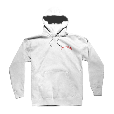 Giving Up White Hoodie