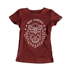 Moth - Red Girls Shirt