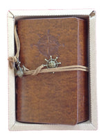 Lian LifeStyle Vintage Classic Leather Cover Nautical String Notebook Journal