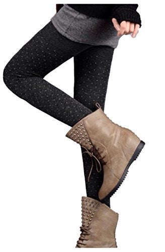 Lian LifeStyle Women's Fashion Stretch Legging One Size
