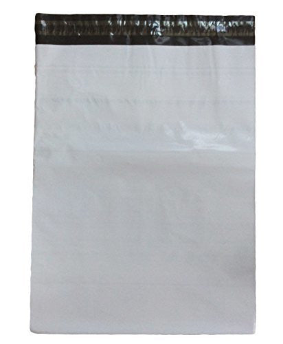 Lian LifeStyle White Self-Sealing Poly Mailers Bags for Non Fragile Products
