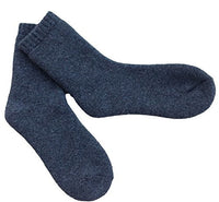 Lian LifeStyle Men's 1 Pair Extra Thick Wool Socks Solid Size 6-11