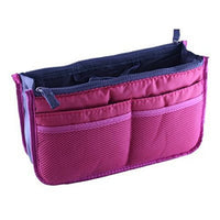 Lian LifeStyle Bag-In-Bag Multifunctional Tidy Travel Handbag 13 Colors