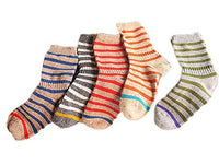 Lian LifeStyle Women's Fashion Cotton Crew Socks Size 7-9