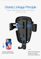 Lian LifeStyle Qi Wireless Fast Charge Car Mount for Samsung Galaxy S8, S7/S7 Edge, Note 8 5 & Standard Charge for iPhone X, 8/8 Plus & Qi Enabled Devices CW15S
