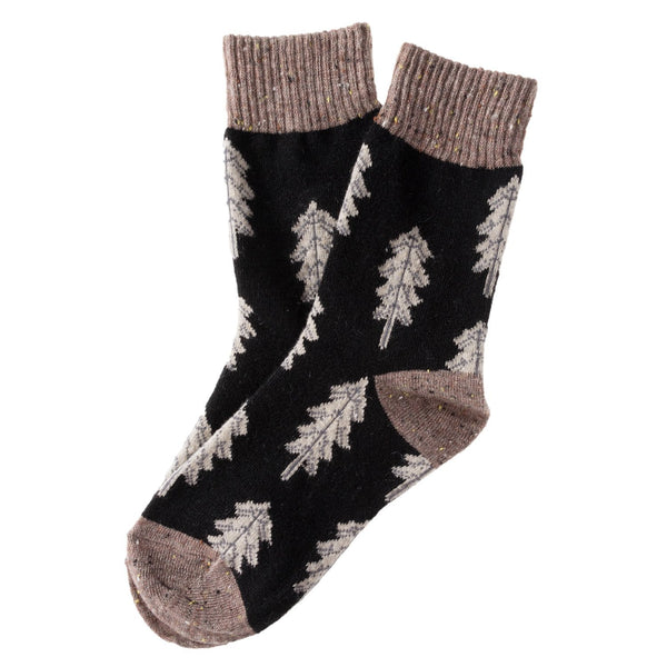 Lian LifeStyle Women's 4 Or 5 Pairs Wool Blend Socks HR1760 Casual Size 6-9