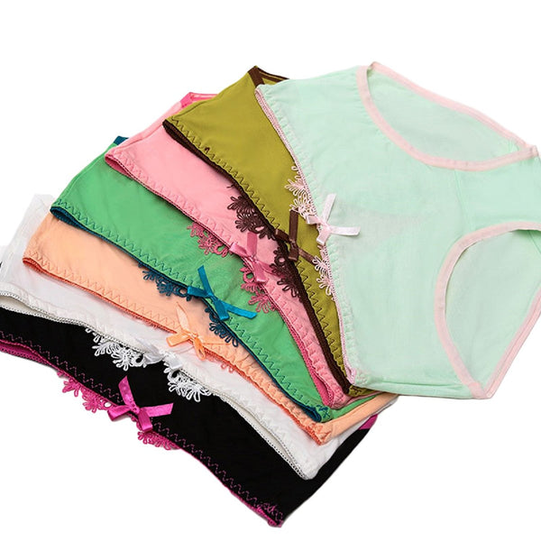 LLS Women's 6 PK Sexy Elegant Underwear Laced Color Size XS/S 6 Colors