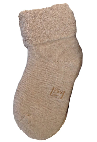 Lian LifeStyle Children 1 Pair Thick Wool Blend Crew Boot Socks Plain Color 3 Sizes