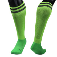 Lian LifeStyle Boys' 1 Pair Knee Length Sports Socks for Baseball/Soccer/Lacrosse XL003 XXS(Green)