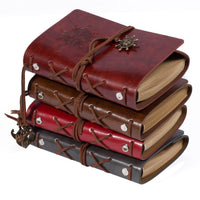 Lian LifeStyle Vintage Classic Leather Cover Nautical Sting Notebook Journal