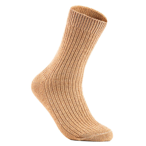 Lian LifeStyle Women's 2 Pairs Knitted Wool Socks One Size 7-10