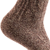 Lian LifeStyle Women's 6 Pairs Pack Soft Wool Blend Crew Socks Size 6-9 (HR1613)
